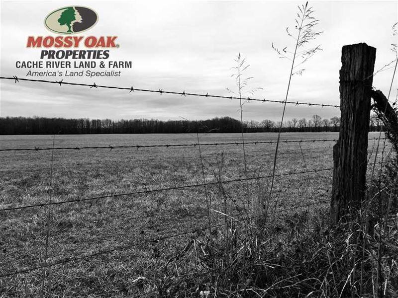 Farm OR Ranch Land With Building : Beebe : White County : Arkansas