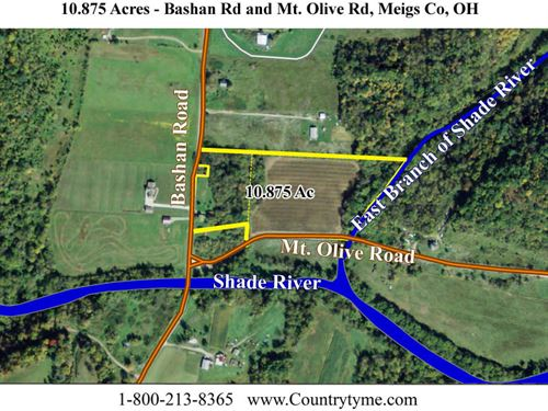 Hobby Farm On The Shade River : Long Bottom : Meigs County : Ohio
