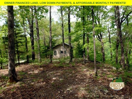 Cabin, With Plenty Of River Front : Tecumseh : Ozark County : Missouri