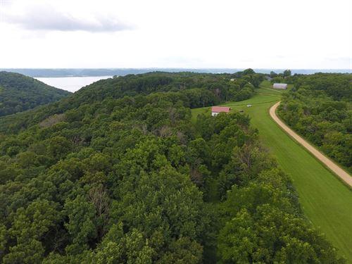 Turkey Bluff Airfield + 53 Acres : Ferryville : Crawford County : Wisconsin