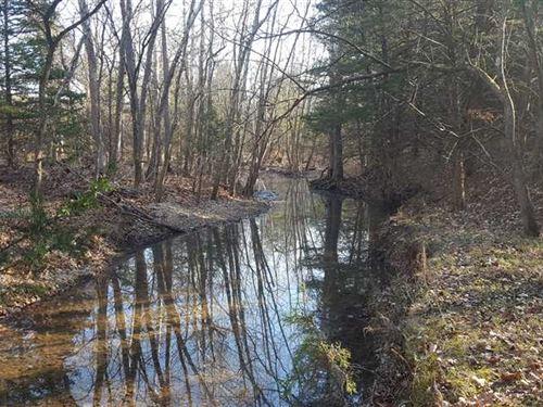 Benton County Hunting Acreage : Warsaw : Benton County : Missouri