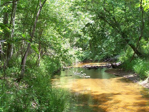 Rear Boundary Schaffers Creek : Louisville : Jefferson County : Georgia