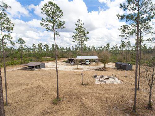 1,600Ac Ag Conversion / Timber Inv : Folkston : Charlton County : Georgia