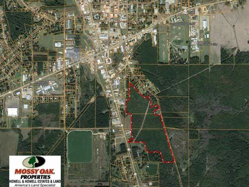 74 Acre Commercial, Developmen : Carthage : Leake County : Mississippi
