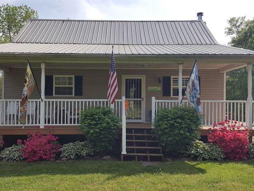 Harkins Chapel Rd - 40 Acres : Albany : Vinton County : Ohio