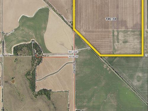Kansas Farmland Auction : Salina : Saline County : Kansas