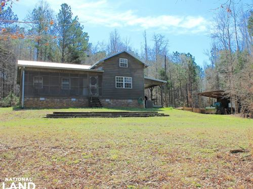 Blue Bird Cabin And Hunting Retreat : Sulligent : Lamar County : Alabama