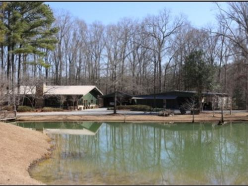 37.93 Acres With A Home In Newton : Newton : Mississippi
