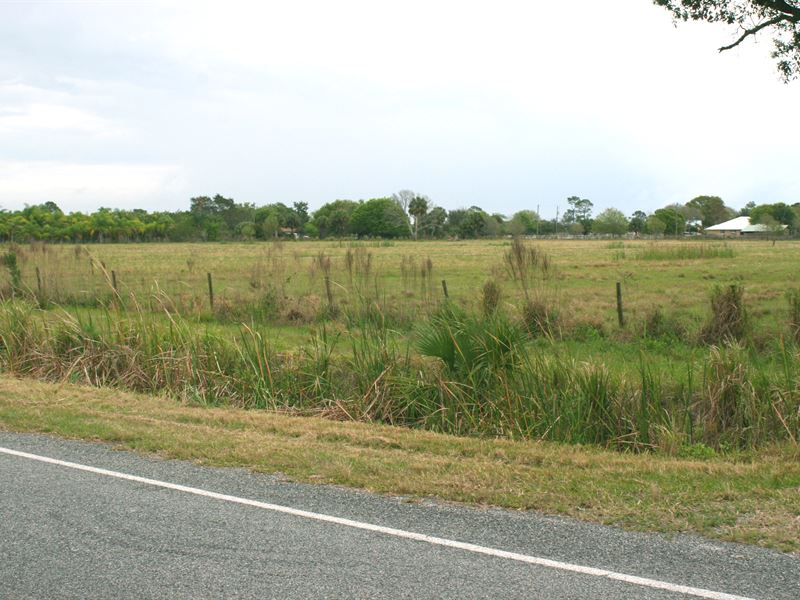 5 Ac Agricultural / Residential Lot : Fort Pierce : Saint Lucie County : Florida