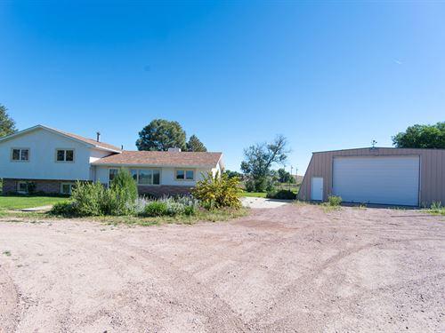 Jobman Equestrian Property : Torrington : Goshen County : Wyoming
