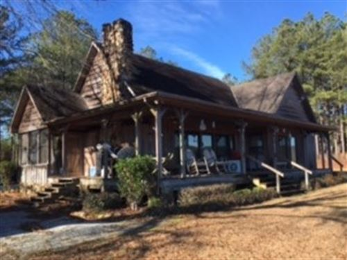 Beautiful Cabin With 190 Acres : Troy : Pike County : Alabama