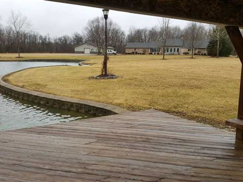 Super Nice 63 Acre Property With : Sunman : Dearborn County : Indiana