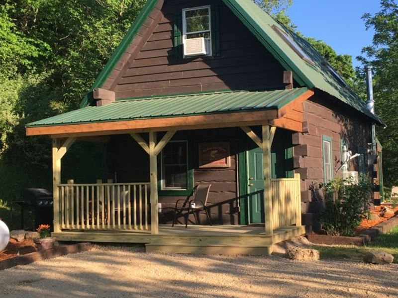 Cabin With Investment Potential : Viola : Vernon County : Wisconsin