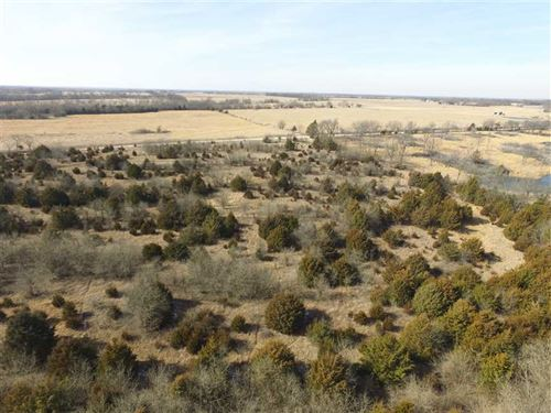 160 Acre Hunting Paradise For Sale : Chanute : Allen County : Kansas