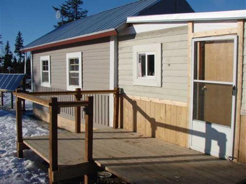 Tiny 346Sf Tongue And Groove,Off-G : Anchor Point : Kenai Peninsula Borough : Alaska