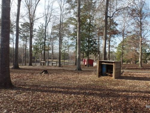 92 Ac - Rural Home With Pond, Pastu : Newton : Texas