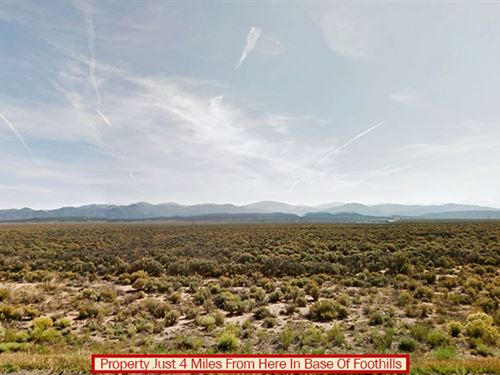 Nearly 6-Acre Lot In Colorado : Fort Garland : Costilla County : Colorado