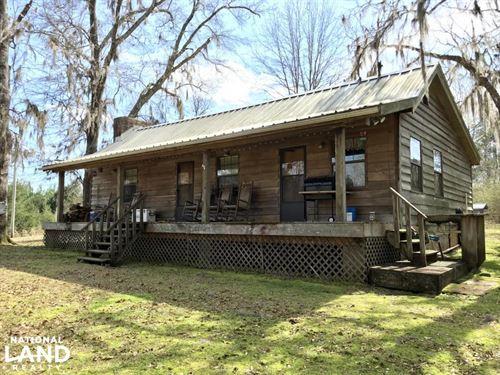 The Cedar Creek Farm Camp And Lakes : Greenville : Butler County : Alabama