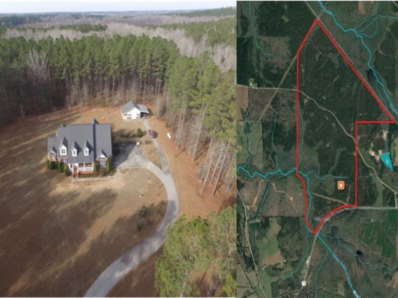 House And 407 Ac Big Timber Farm For Sale Pine