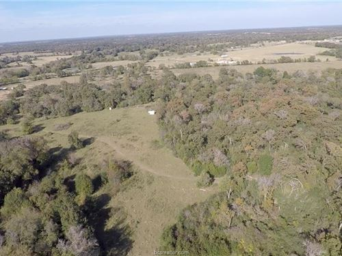 90+/- Acre Recreational Property : Bryan : Brazos County : Texas