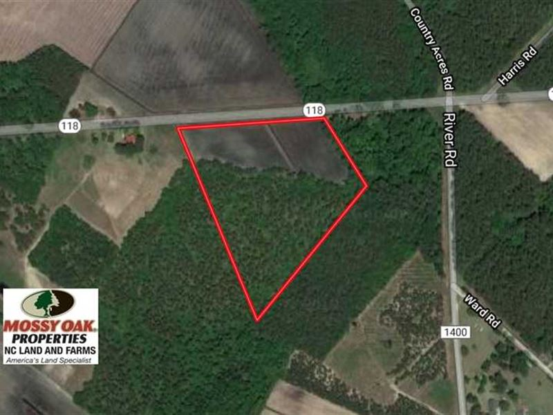 14.7 Acres of Farm And Residential : Grifton : Craven County : North Carolina