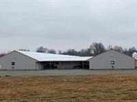 Ok Poultry Farms 80 Acres +/- : Oktaha : Muskogee County : Oklahoma
