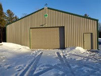 15 Wooded Acres With Shed : Lac Du Flambeau : Vilas County : Wisconsin