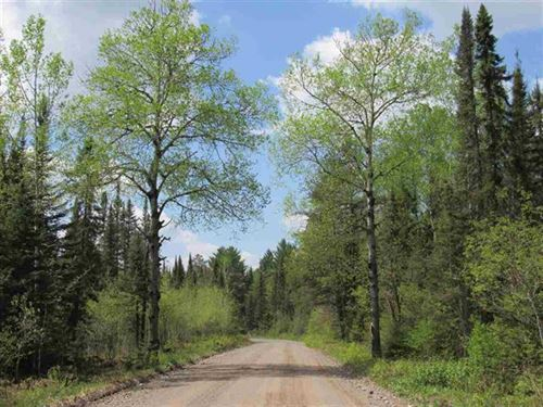 473 Acres With Creeks and River : Champion : Marquette County : Michigan