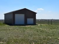 High Prairie 160 With Barn : Calhan : El Paso County : Colorado
