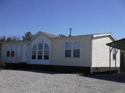 27.84Ac W/Home, Workshop/Apt, Creek : Clarkrange : Fentress County : Tennessee