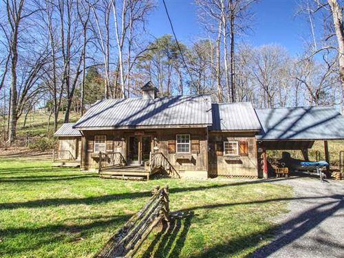 Clinch River House & Cabin - Trout : Rocky Top : Anderson County : Tennessee