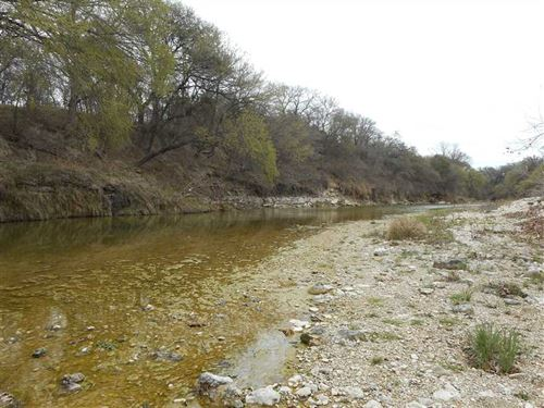 Lampasas River Land For Sale- 13 : Kempner : Lampasas County : Texas