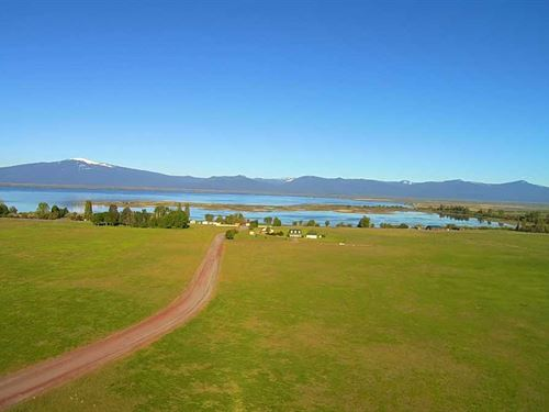 5 Acres W/Lake And Mountain Views : Chiloquin : Klamath County : Oregon