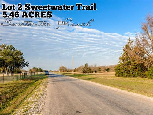 5.46 Acres In Navarro County : Kerens : Navarro County : Texas