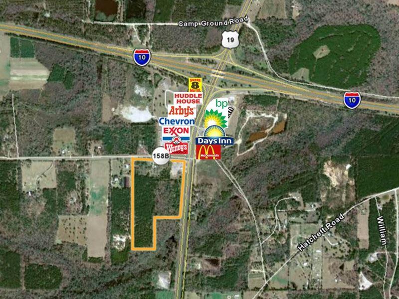Us 19 Florida Map.Us 19 Nash Road Farm For Sale Monticello Jefferson County