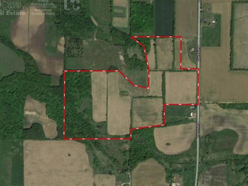Farm Land With Investment Options : Cascade : Sheboygan County : Wisconsin
