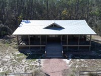 Great Satilla Preserve Cabin : White Oak : Camden County : Georgia