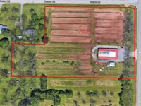 Corner Commercial Lot Available : Byron : Houston County : Georgia