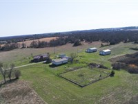 139 Acres With A Beautiful Home : Shawnee : Oklahoma County : Oklahoma