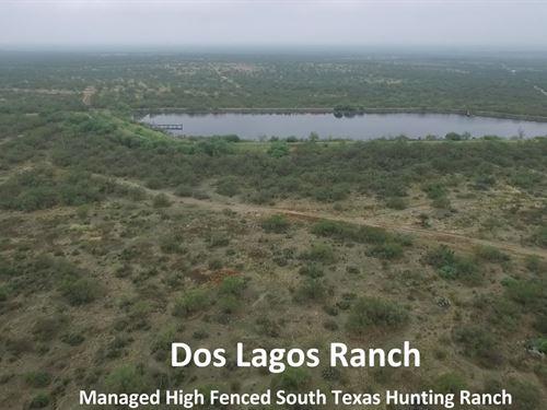Dos Lagos Ranch : El Indio : Maverick County : Texas