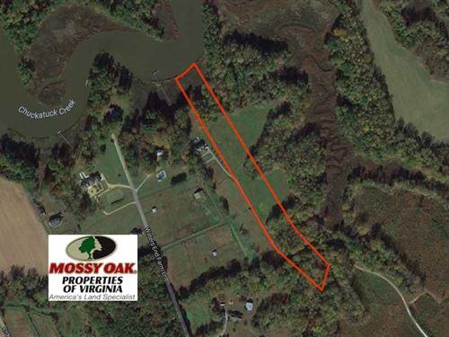 Reduced, 6.87 Acres of Residentia : Suffolk : Virginia