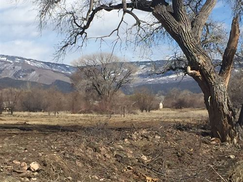 Beautiful Property With Mountains : Whitewater : Mesa County : Colorado