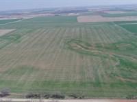 160 Acres Cropland, Pasture & Pond : Marshall : Oklahoma County : Oklahoma