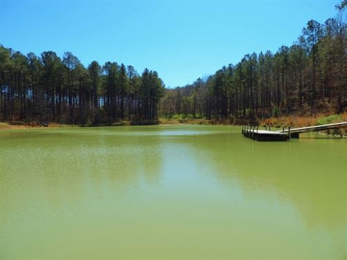 Hardwood, Pond, & Home : Greensboro : Greene County : Georgia