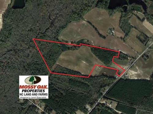 Under Contract, 50 Acres of Farm : Fairmont : Robeson County : North Carolina