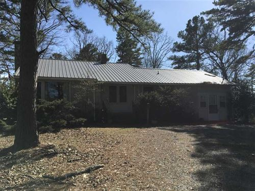 6 Acres, Nice Older Rock Home : Evening Shade : Sharp County : Arkansas