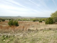 184 Acre Ranch In Goldthwaite : Goldthwaite : Mills County : Texas