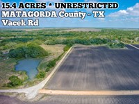 15.4 Acres In Matagorda County : Palacios : Matagorda County : Texas