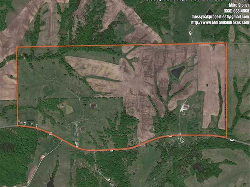 Beautiful 280 Acre Combination Far : Milan : Sullivan County : Missouri