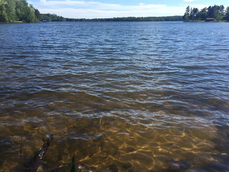 Southern Exposure On Bearskin Lake : Hazelhurst : Oneida County : Wisconsin